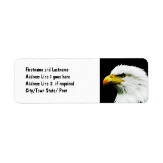 Bald Eagle - American Eagle Photograph Custom Return Address Labels