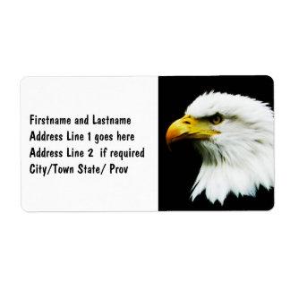 Bald Eagle - American Eagle Photograph Label