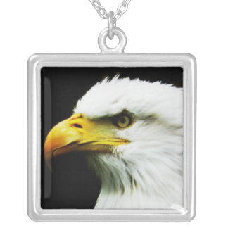 Bald Eagle - American Eagle Photograph Personalized Necklace