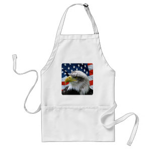 Bald Eagle American Flag Aprons