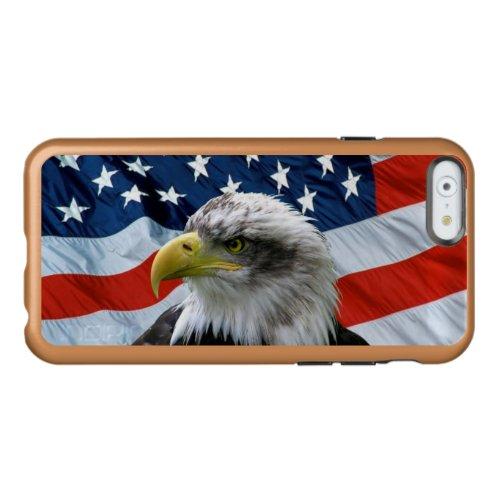 Bald Eagle American Flag Phone Case