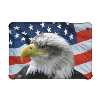 Bald Eagle American Flag iPad Mini Retina Case
