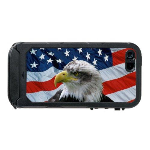 Bald Eagle American Flag iPhone 5 Case Phone Case