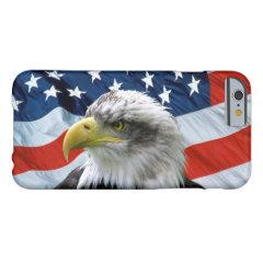 Bald Eagle American Flag iPhone 6 Case