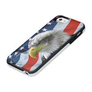 Bald Eagle American Flag iPhone SE/5/5s Battery Case