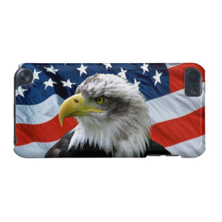 Bald Eagle American Flag iPod 5 Case iPod Touch (5th Generation) Cover