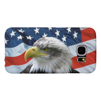 Bald Eagle American Flag Samsung Galaxy S6 Case