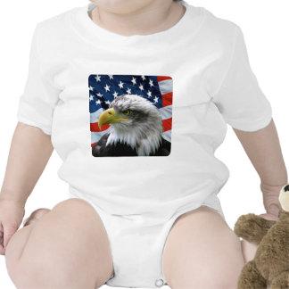 Bald Eagle American Flag Tees