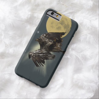 Bald Eagle and Full Moon Artwork Barely There iPhone 6 Case