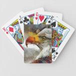 Bald Eagle Bicycle Card Deck