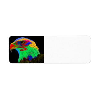 Bald Eagle (brushed) Label