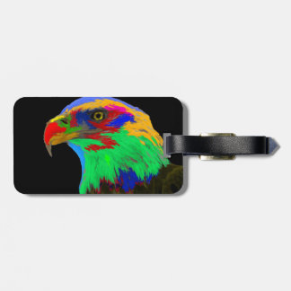 Bald Eagle (brushed) Tag For Bags