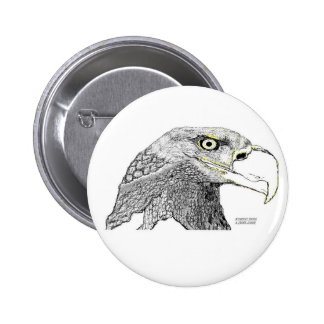 Bald Eagle Pinback Buttons