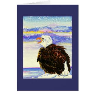 """""""Bald Eagle"""" Card"""