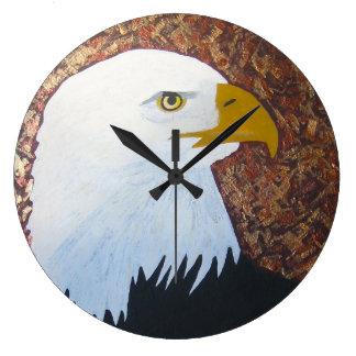 Bald Eagle Clock