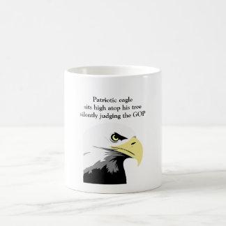 Bald Eagle Commentary on Modern Politics Coffee Mug