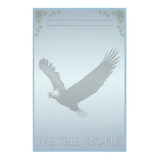 Bald Eagle Custom Stationery