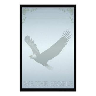 Bald Eagle Custom Stationery Stationery Design