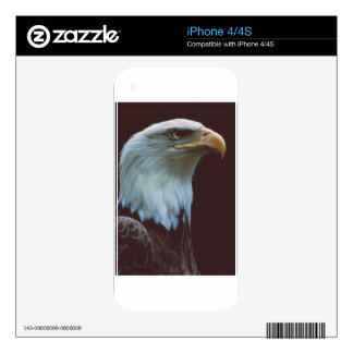 Bald Eagle Decals For iPhone 4S