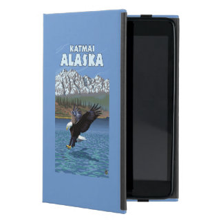 Bald Eagle Diving - Katmai, Alaska Cover For iPad Mini