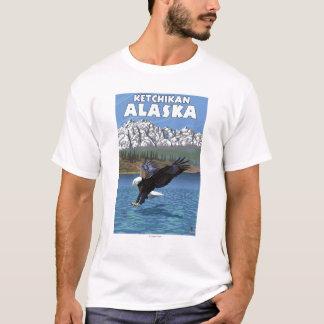 Bald Eagle Diving - Ketchikan, Alaska T-Shirt