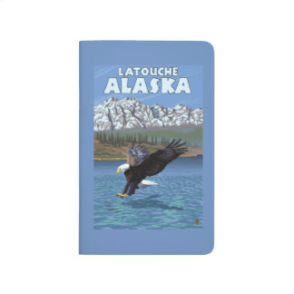 Bald Eagle Diving - Latouche, Alaska Journal
