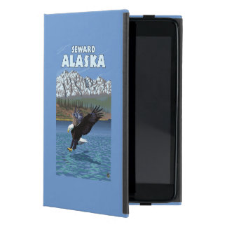 Bald Eagle Diving - Seward, Alaska iPad Mini Cover