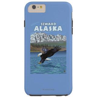 Bald Eagle Diving - Seward, Alaska Tough iPhone 6 Plus Case