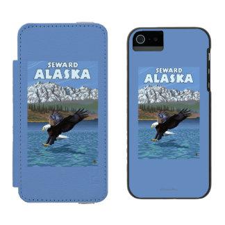Bald Eagle Diving - Seward, Alaska Wallet Case For iPhone SE/5/5s