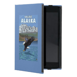 Bald Eagle Diving - Valdez, Alaska Cover For iPad Mini