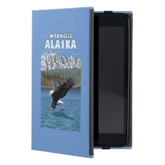 Bald Eagle Diving - Wrangell, Alaska Cover For iPad Mini