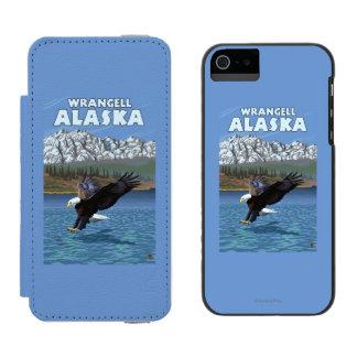 Bald Eagle Diving - Wrangell, Alaska Incipio Watson™ iPhone 5 Wallet Case