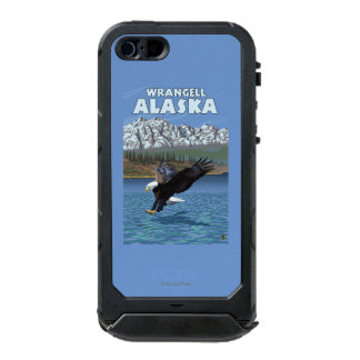Bald Eagle Diving - Wrangell, Alaska Waterproof iPhone SE/5/5s Case