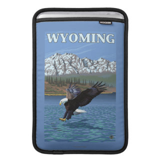 Bald Eagle Diving - Wyoming MacBook Air Sleeve