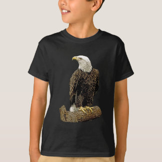 Bald Eagle Drawing T-Shirt