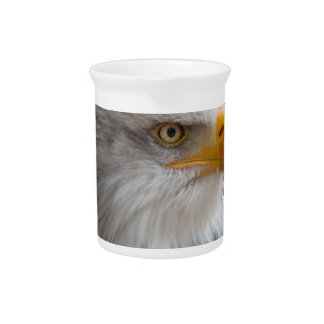 Bald eagle drink pitcher