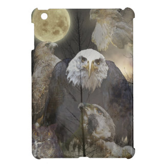 Bald Eagle, Falcon, Hawk & Owl Wildlife Art iPad Mini Case