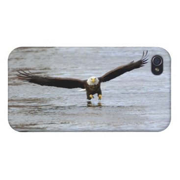 Bald Eagle Fishing Case For iPhone 4