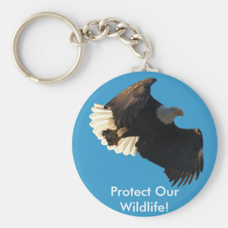 Bald Eagle Flight Collection II Keychain