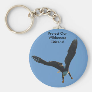 Bald Eagle Flight Collection Keychain