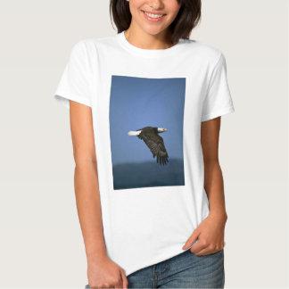 Bald Eagle flying across horizon T-shirt
