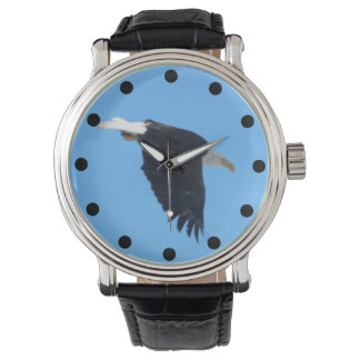 Bald Eagle Flying Photo Watch