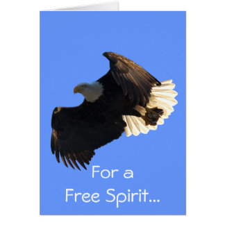 Bald Eagle Free Spirit Flight Collection Cards