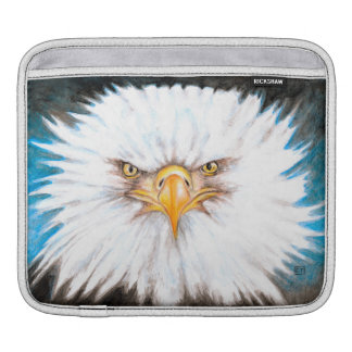 Bald Eagle Gaze iPad Sleeve