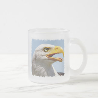 Bald Eagle Glass Mug