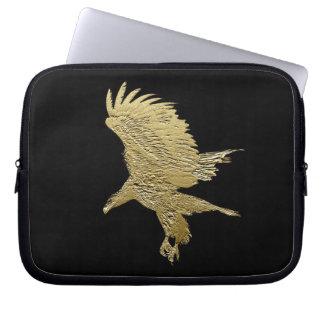 Bald Eagle Golden Eagle Wildlife Laptop Sleeve