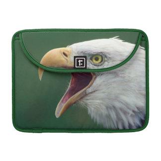 Bald Eagle (Haliaeetus leucocephalus) Sleeves For MacBook Pro