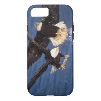 bald eagle, Haliaeetus leucocephalus, taking off iPhone 8/7 Case