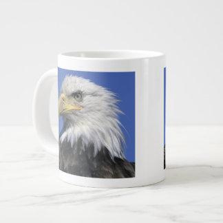 Bald Eagle, (Haliaeetus leucocephalus), wild, Large Coffee Mug