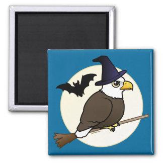 Bald Eagle Halloween Fridge Magnets